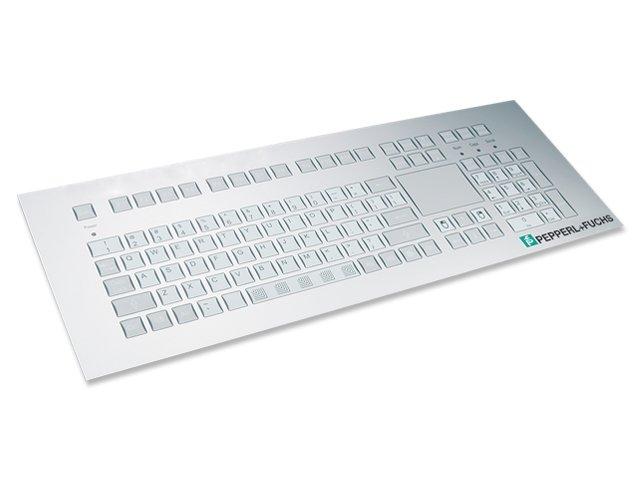 Intrinsically Safe Industrial Keyboards EX series 105 keys