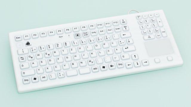 IP68 tastatur mbakrunnsbelysning og magnetmontasje